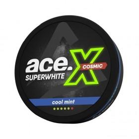 SNUS Nikotiinipadjad Ace X Superwhite Cool Mint Cosmic