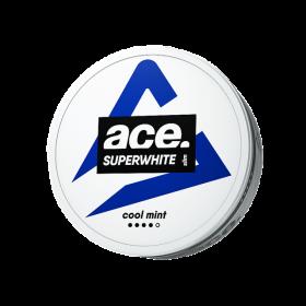 SNUS Nikotiinipadjad Ace Superwhite Cool Mint