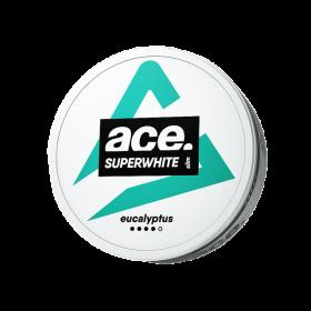 SNUS Nikotiinipadjad Ace Superwhite Eucalyptus