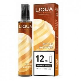 E-vedeliku maitsestaja Liqua 12ml Butter Biscotto