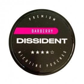 SNUS Nikotiinipadjad Dissident Barberry Strong 21mg