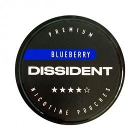 SNUS Nikotiinipadjad Dissident Blueberry Strong 21mg
