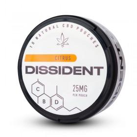 SNUS Nikotiinipadjad Dissident Citrus CBD 25mg
