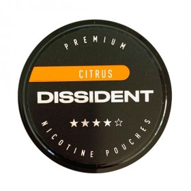 SNUS Nikotiinipadjad Dissident Citrus Strong 21mg