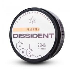 SNUS Nikotiinipadjad Dissident Peach Tea CBD 25mg
