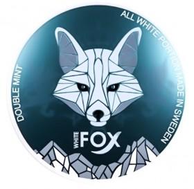 SNUS nikotiinipadjad White Fox Double Mint 16mg/g
