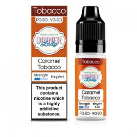 E-vedelik Dinner Lady Caramel Tobacco 10ml
