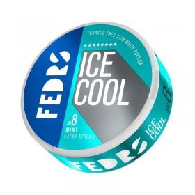 SNUS Nikotiinipadjad Fedrs Ice Cool Mint 8 Extra strong 40mg