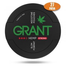 SNUS nikotiinipadjad GRANT HEMP 25mg