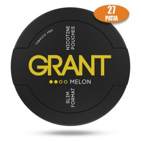 SNUS nikotiinipadjad GRANT MELON 25mg