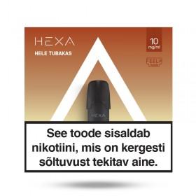Kapsel E-vedelik HEXA 2x 1.7ml Hele tubakas