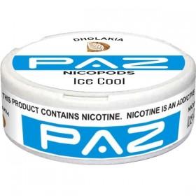 SNUS nikotiinipadjad Paz Ice Blue 16mg