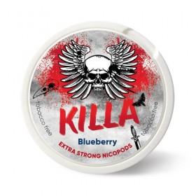 SNUS nikotiinipadjad Killa Blueberry 25mg/g