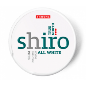 SNUS nikotiinipadjad Shiro All White True North 22mg