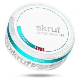 SNUS nikotiinipadjad Skruf Super White #4 EST