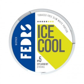 SNUS Nikotiinipadjad Fedrs Ice Cool Spearmint Strong 30mg