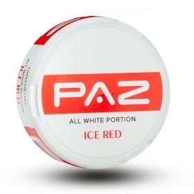 SNUS nikotiinipadjad Paz Ice Red 24mg